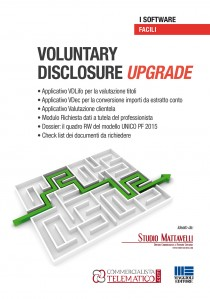 VOLUNTARY  DISCLOSURE Upgrade