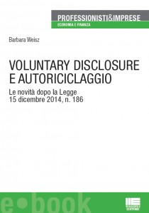 VOLUNTARY DISCLOSURE E AUTORICICLAGGIO
