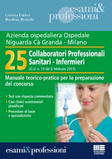 25 Collaboratori Professionali Sanitari - Infermieri