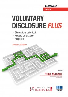 VOLUNTARY  DISCLOSURE plus