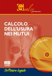 Calcolo  dell'usura  nei mutui