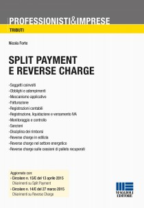 Split payment e reverse charge