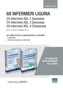 Kit 69 Infermieri Liguria