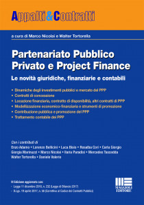 Partenariato Pubblico Privato e Project Finance
